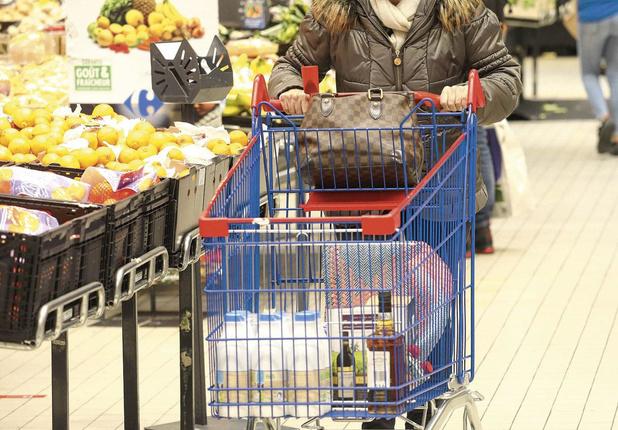 Carrefour en forte hausse
