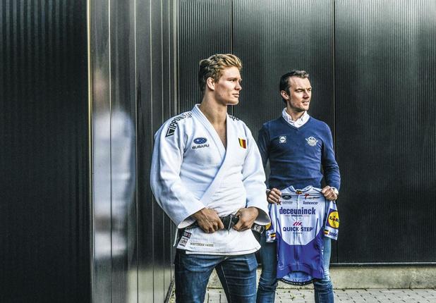 Matthias Casse en Yves Lampaert: 'Judotrainingen zijn veel intensiever dan fietstrainingen'