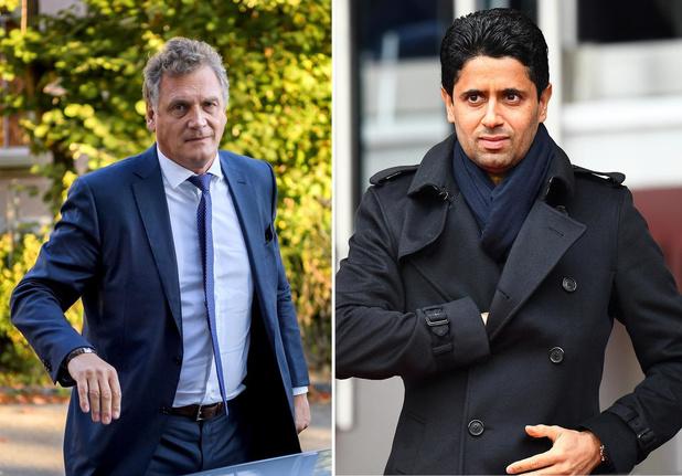 PSG-voorzitter en gewezen FIFA-topman in nauwe schoentjes door tv-rechten WK