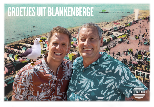 "Gert en James in Blankenberge: ""Ons West-Vlaams is stif hoet!"""