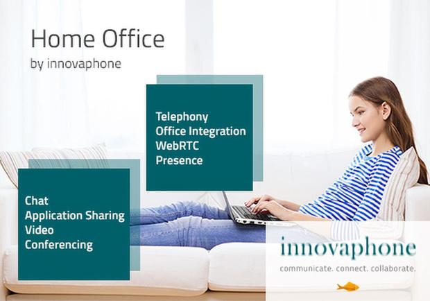 Werken in tijden van Corona: Home Office by innovaphone, de volwaardige werkplek thuis