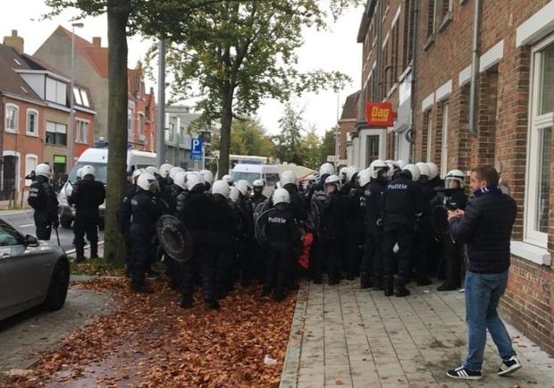Parket wil 15 blauw-zwarte hooligans vervolgen voor rellen na Club-Antwerp