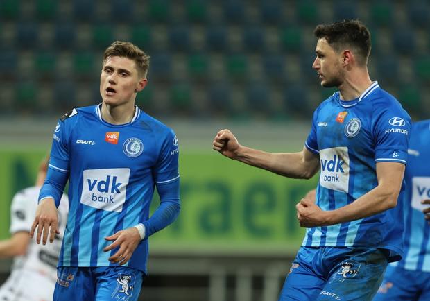 AA Gent klimt naar 9e plaats na krappe zege tegen Cercle Brugge