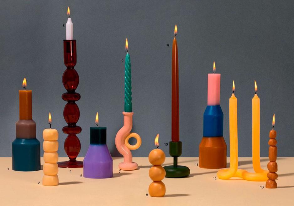 Zorg voor licht: met deze stijlvolle kaarsen verjaag je het donker