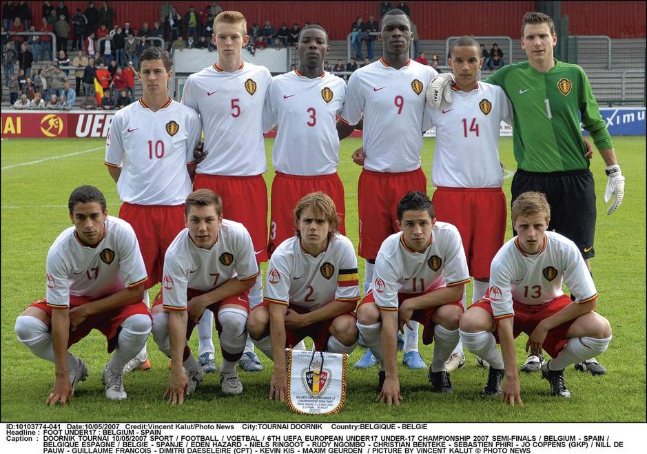 Korte dribbels en lange haren: getuigenissen over Eden Hazard bij de Belgische U17