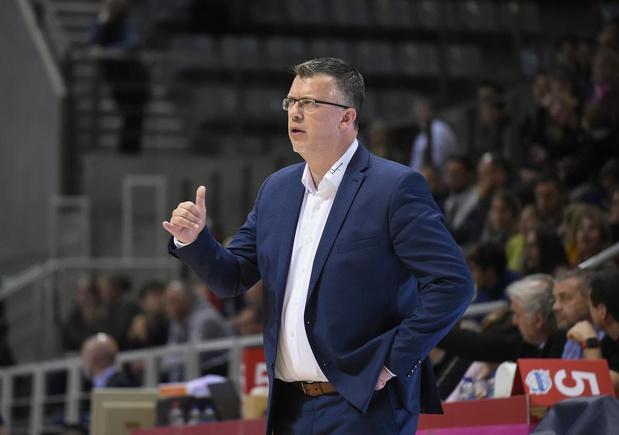 Pascal Angillis niet langer coach van Spirou Charleroi