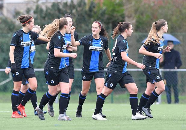Club YLA nieuwe naam voor de Club Brugge Vrouwen