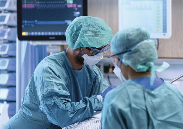 Sterftecijfers bij covid-patiënten in dalende lijn