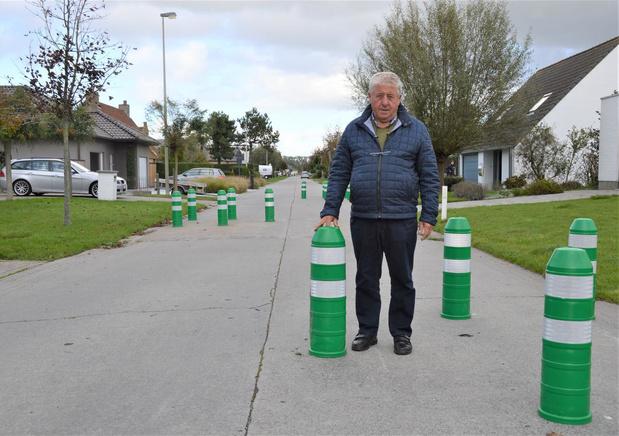 Weimanstraat in Zuienkerke krijgt wegversmallingen