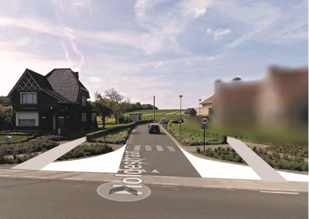 Gevaarlijk kruispunt voor fietsers in Tielt krijgt voorrangsbord en wordt heringericht