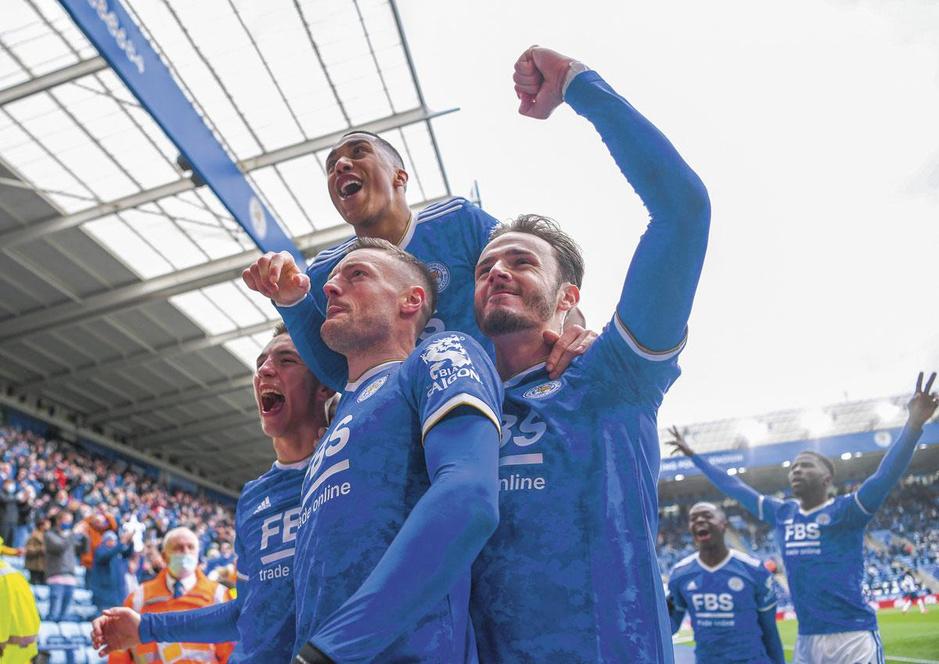 Leicester City, een grootheid in wording?