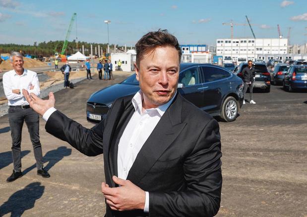 Allemagne: les ambitions pharaoniques de Tesla