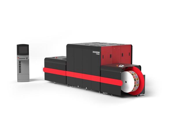 Xeikon lance une presse à étiquettes 7 couleurs