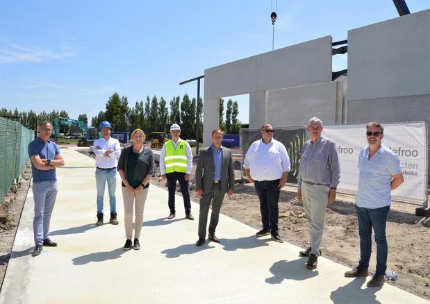 Nieuw bedrijvenpark in Blankenberge opent eind dit jaar