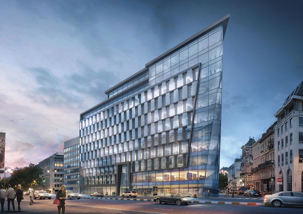"""Bruxelles en quête de bureaux neufs """"up-to-date"""""""
