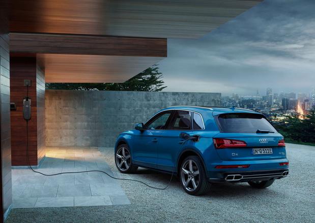 Audi Q5 55 TFSI e Quattro is plug-in hybride