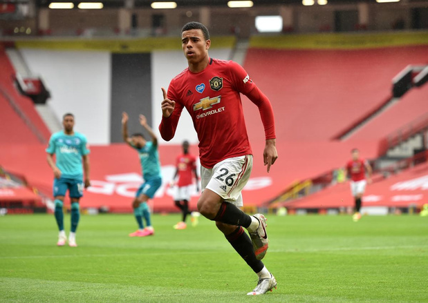 Mason Greenwood: the next big thing in de Premier League