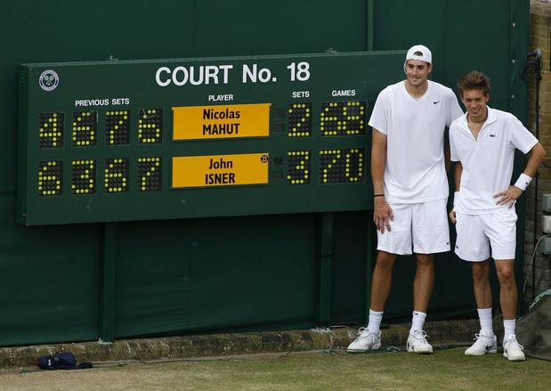 Flashback naar 24 juni 2010: een tennismatch van 11 uur en 5 minuten