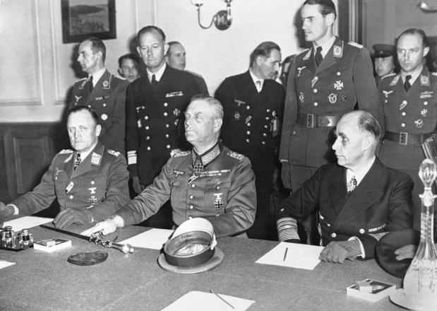 Le 8 mai 1945, la deuxième reddition de l'Allemagne