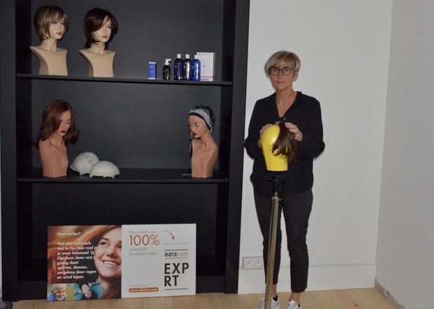 Carine Vandael opent Figaro Hairclinic met haarwerk op maat