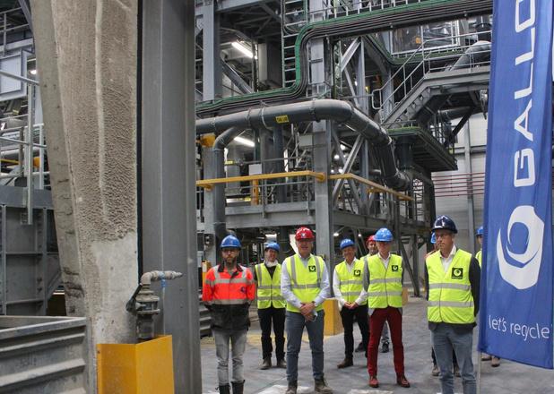 Recyclagebedrijf Galloo neemt nieuwe Fines-Lijn in gebruik