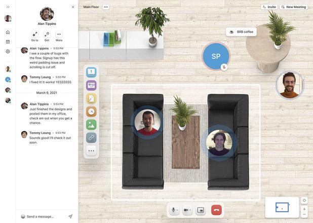 Ressources humaines: retrouver la machine à café en télétravail via des bureaux virtuels