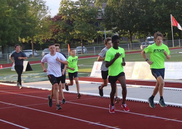 Nieuwe atletiekpiste gaf Running Team Olympic Menen een stevige boost