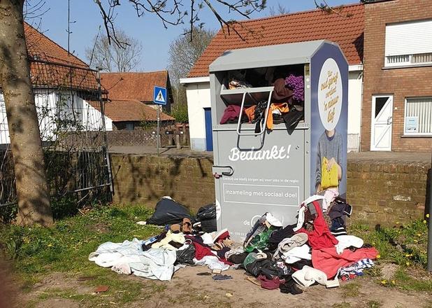 Oproep Kringloopcentrum: hou uw oud textiel nog even in uw kot!