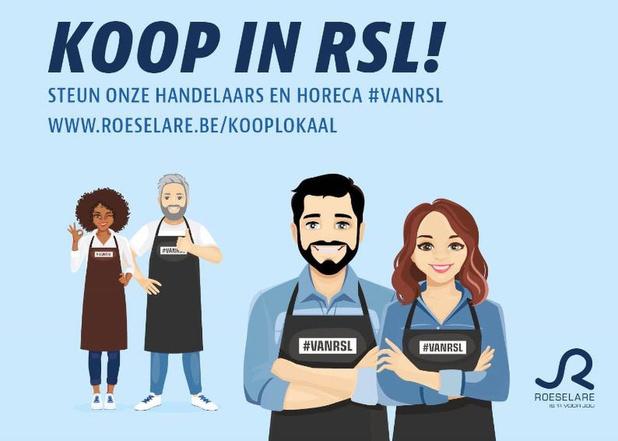 Roeselare lanceert campagne om lokaal te blijven kopen, en dat ook te delen