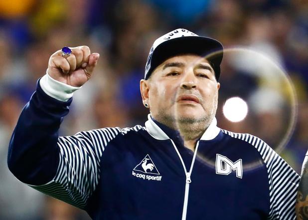 Het laatste interview met Diego Maradona: 'Scoren met de rechterhand tegen de Engelsen, daar droom ik nog van'