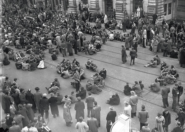Le 7 septembre 1884, catholiques et libéraux se cognent à Bruxelles sur la question de la guerre scolaire
