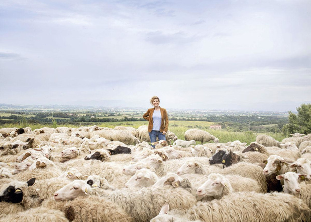 """Ilaria Fendi, de la couture à l'agriculture: """"Fendi opte pour le luxe, je choisis les déchets"""""""