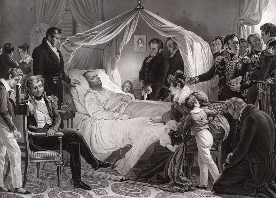 Napoléon sur la table du légiste