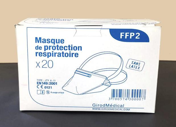 Distribution immédiate de 100.000 masques FFP2 aux prestataires de soins
