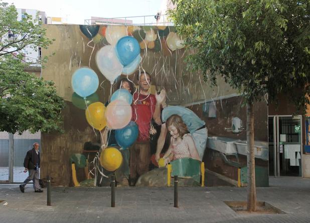 Jouw foto groot als een huis op een muur in Wevelgem?