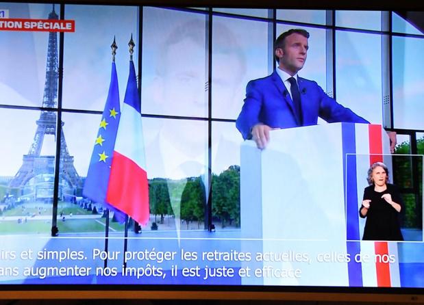 Macron impose la vaccination pour les personnels des établissements de santé