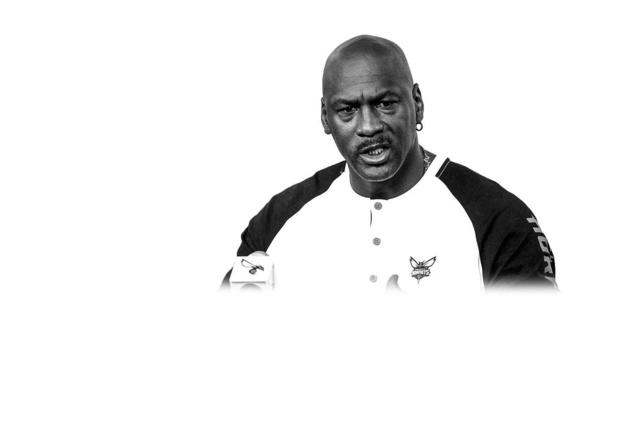 Michael Jordan - Bastketballer schiet raak