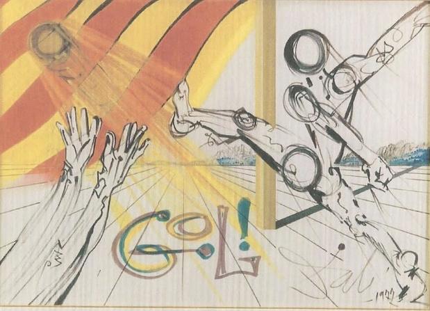 Flashback naar 11 mei 1904: de geboorte van Salvador Dalí, de redder van een ploeg in Barcelona