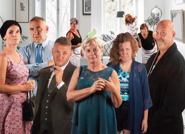 Theaterkliek Vliegend Hert uit Wingene speelt binnenkort 'Dubbel Gevoel'