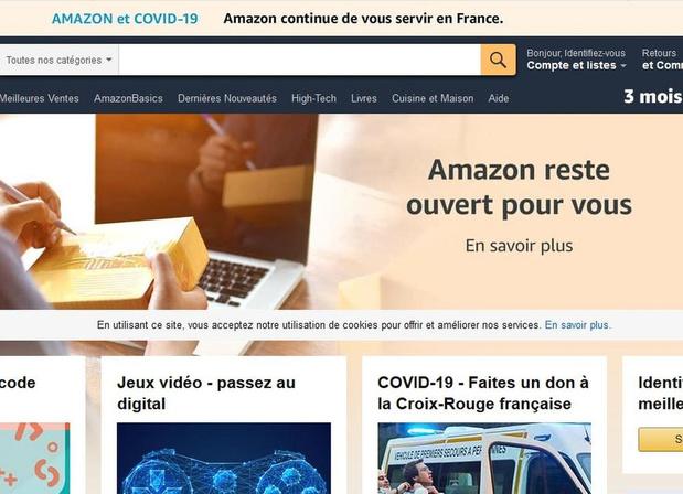 Livres : Amazon condamnée à cesser la vente et la livraison en France