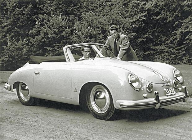 Het kunstwerk Porsche