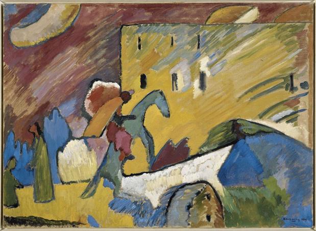 Dans l'intimité de Kandinsky