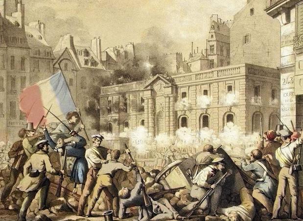 Le 26 février 1848, Léopold Ier craint pour son pays