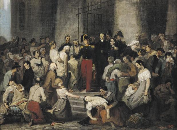 Le 9 avril 1832, une épidémie, déjà