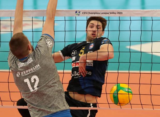 Knack wint in vier sets van Friedrichshafen en houdt kwalificatiekansen gaaf