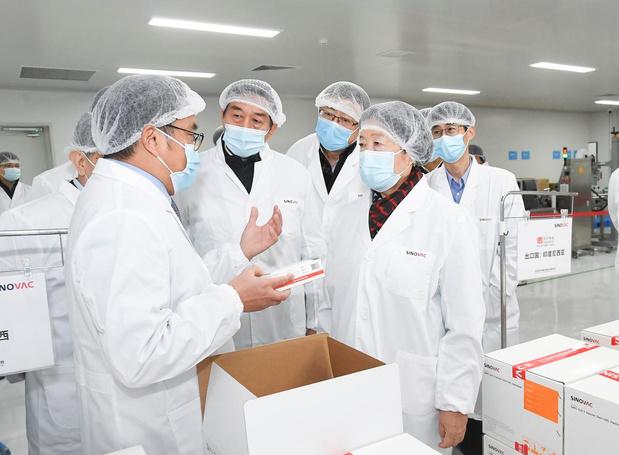 Vaccins: le chinois Sinovac décroche un financement de 515 millions de dollars