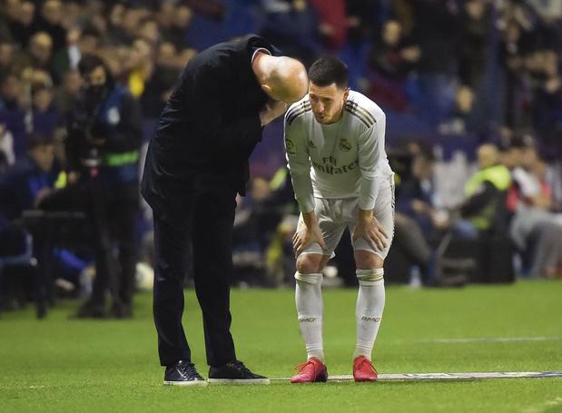 'Het verblijf van Hazard in Madrid groeit uit tot een kruisweg'