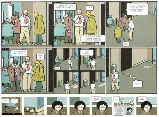 [la BD de la semaine] Rusty Brown, de Chris Ware: mondes intérieurs