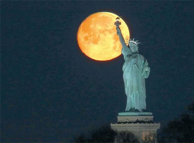 Ces photos qui racontent l'histoire des Etats-Unis: les dieux bénisseurs