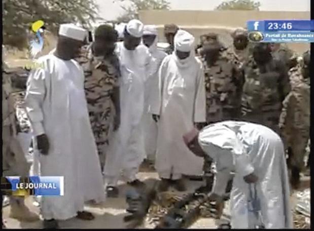 Trafic d'armes belges au Tchad
